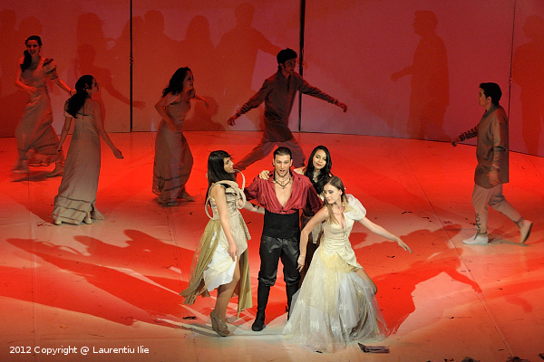 Jean Kristof Bouton in rolul Don Giovanni din opera omonima de W.A. Mozart